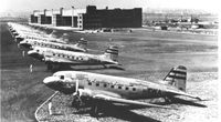 DC-3s at Newark Airport